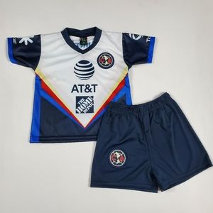 Club america soccer jersey and shorts